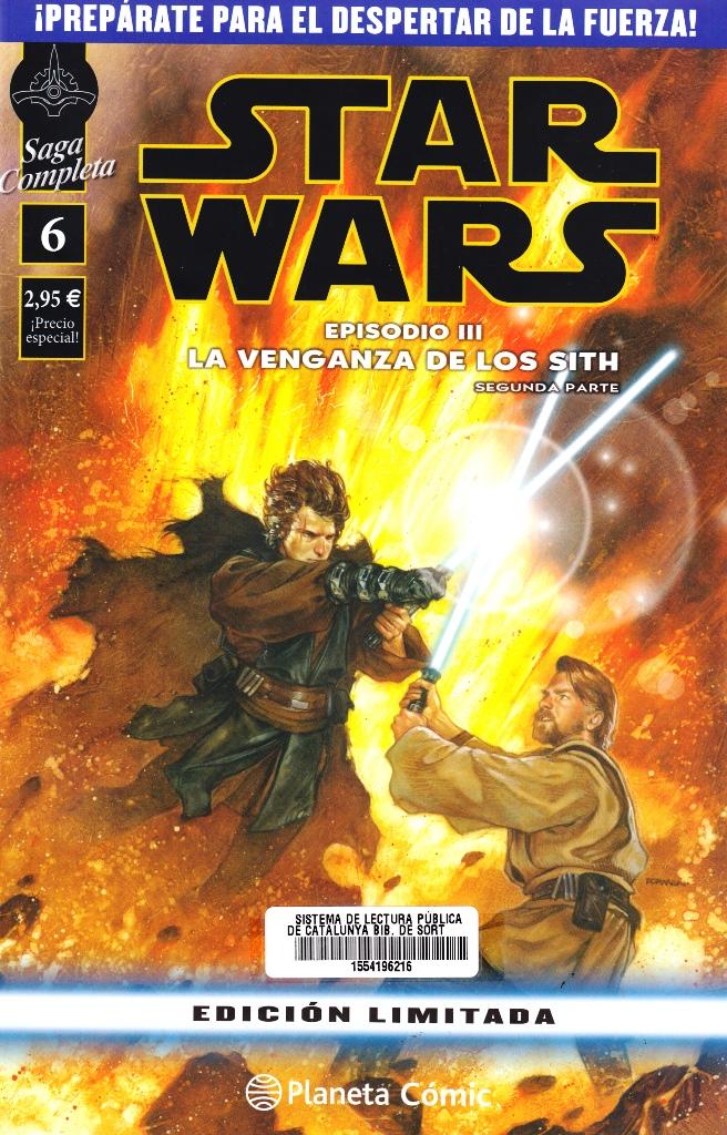 STAR WARS SAGA COMPLETA 06