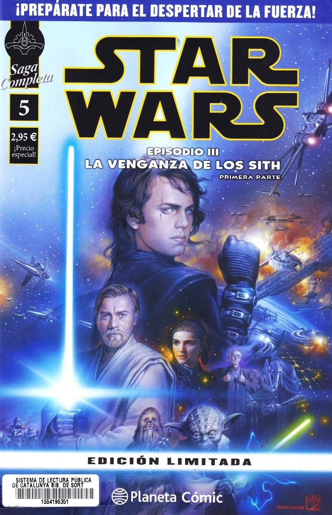 STAR WARS SAGA COMPLETA EPISODIO III-01