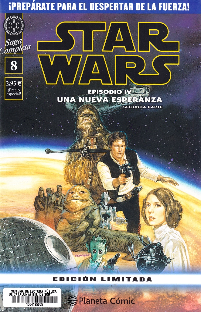 STAR WARS SAGA COMPLETA 08