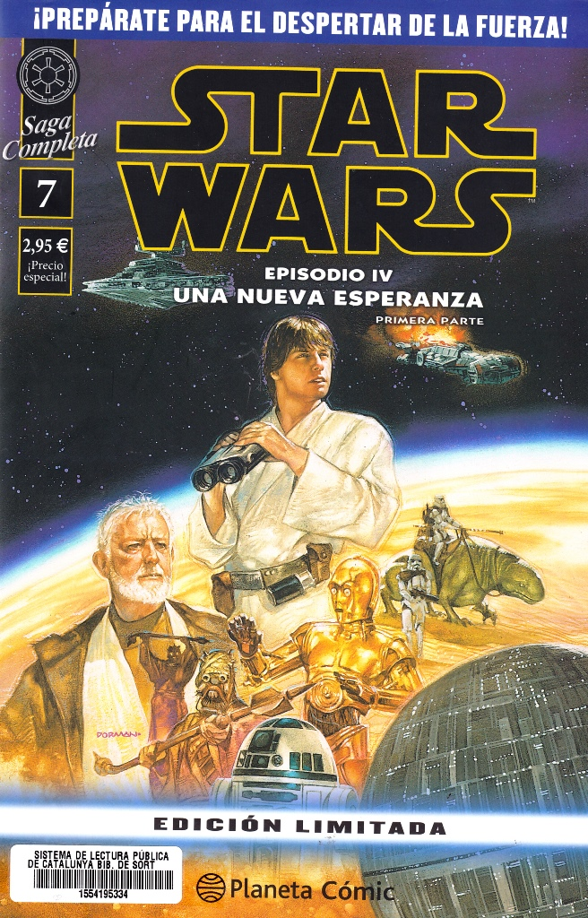 STAR WARS SAGA COMPLETA EPISODIO IV-01