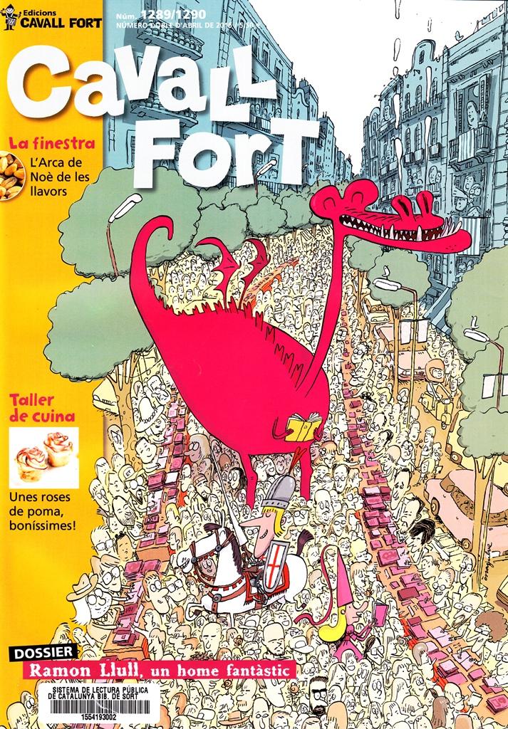 CAVALL FORT 1289-1290