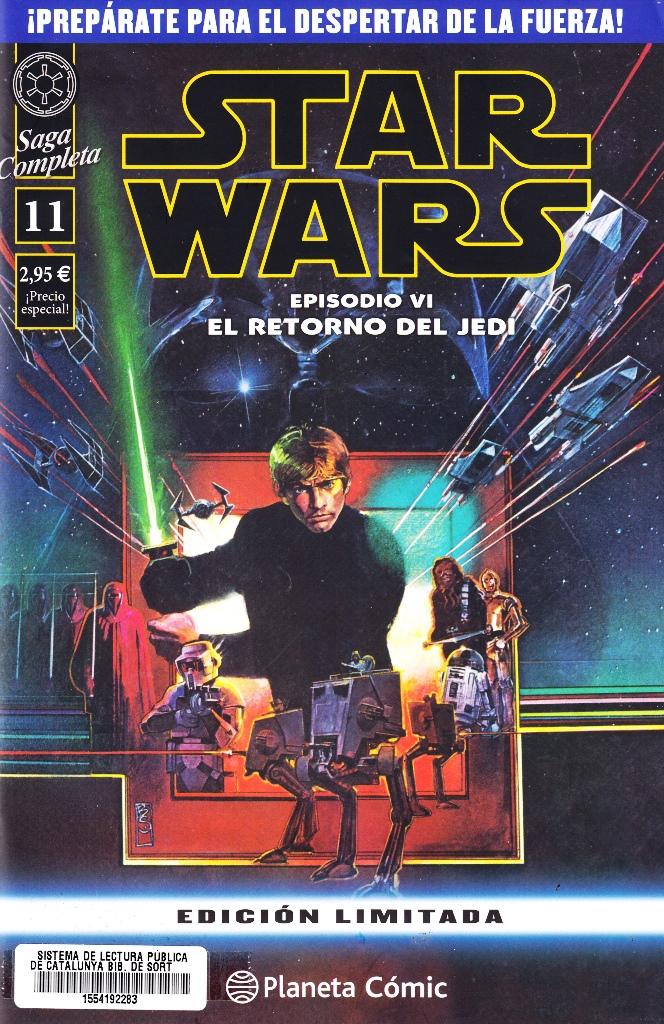 STAR WARS SAGA COMPLETA - EPISODIO VI